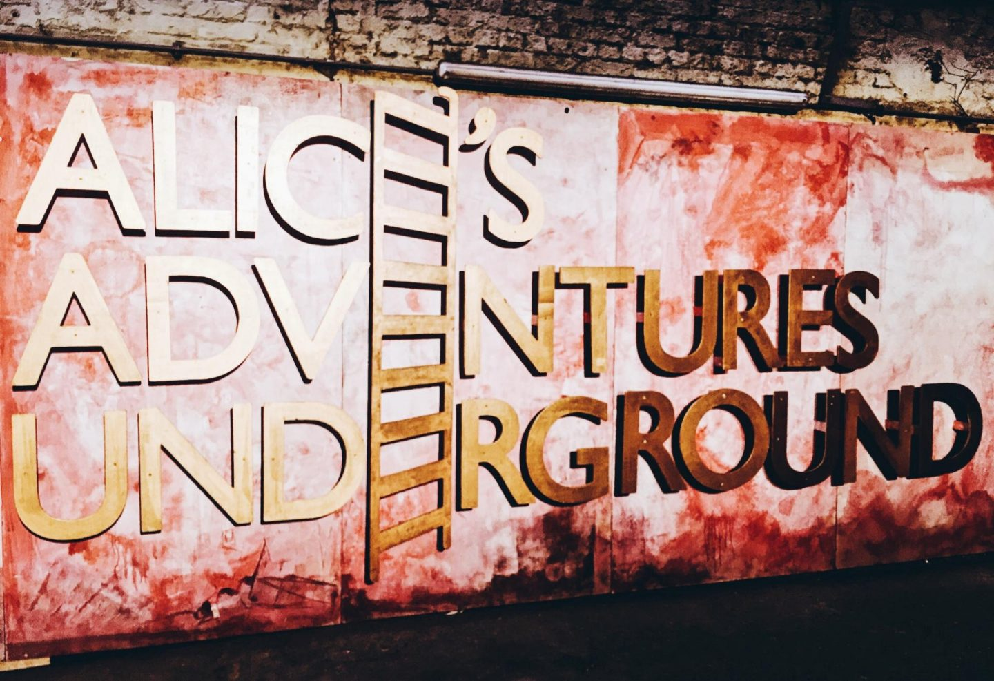 Exploring London: Wonderland Bar at Alice's Adventures Underground