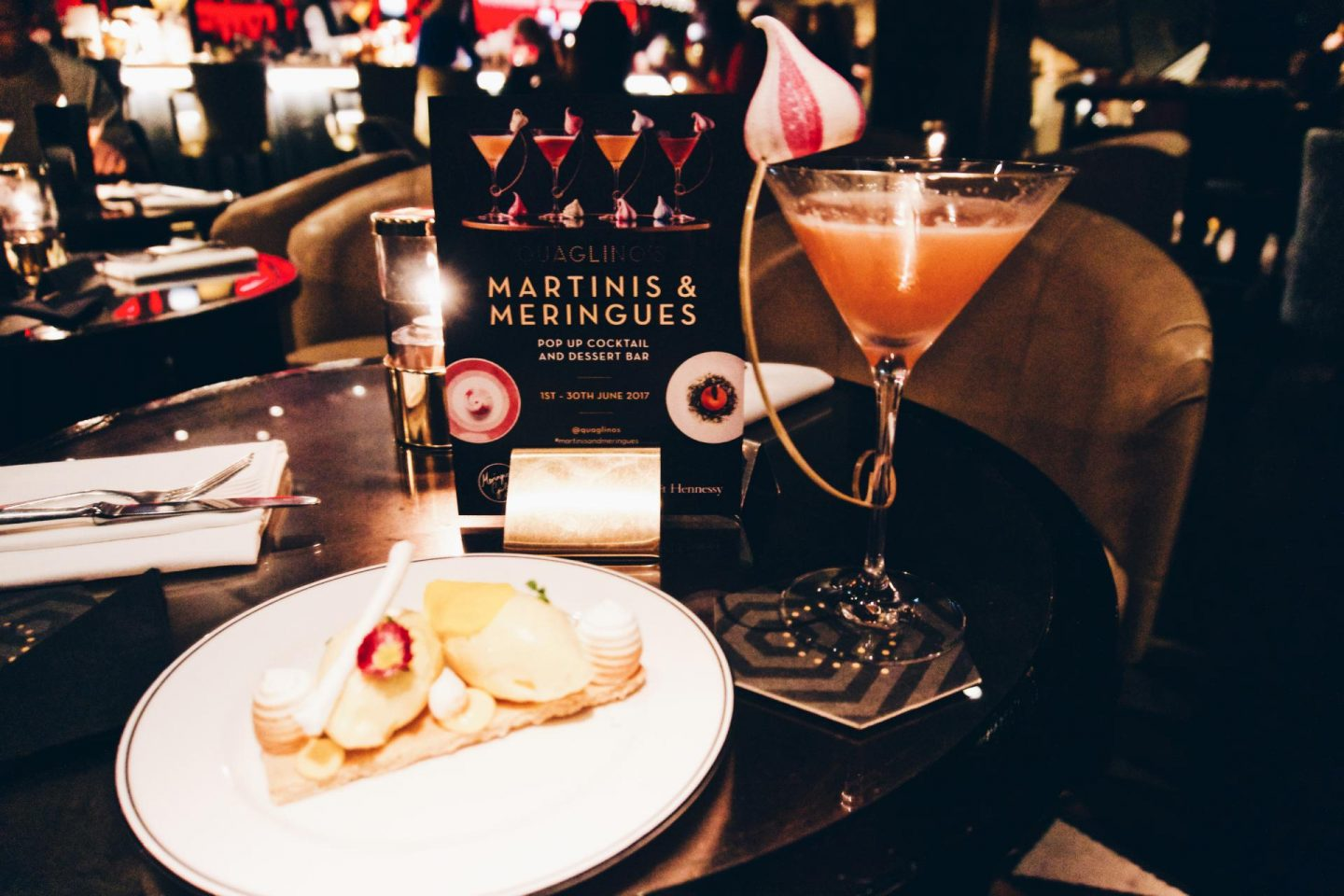 Martini and Meringues