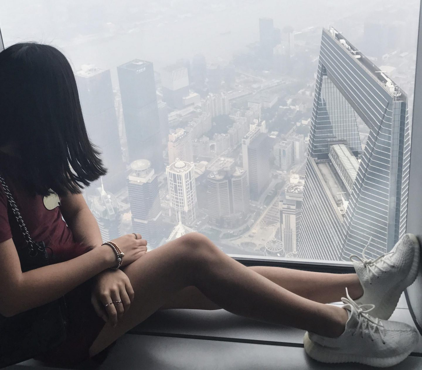 View from Shanghai Observation Deck
