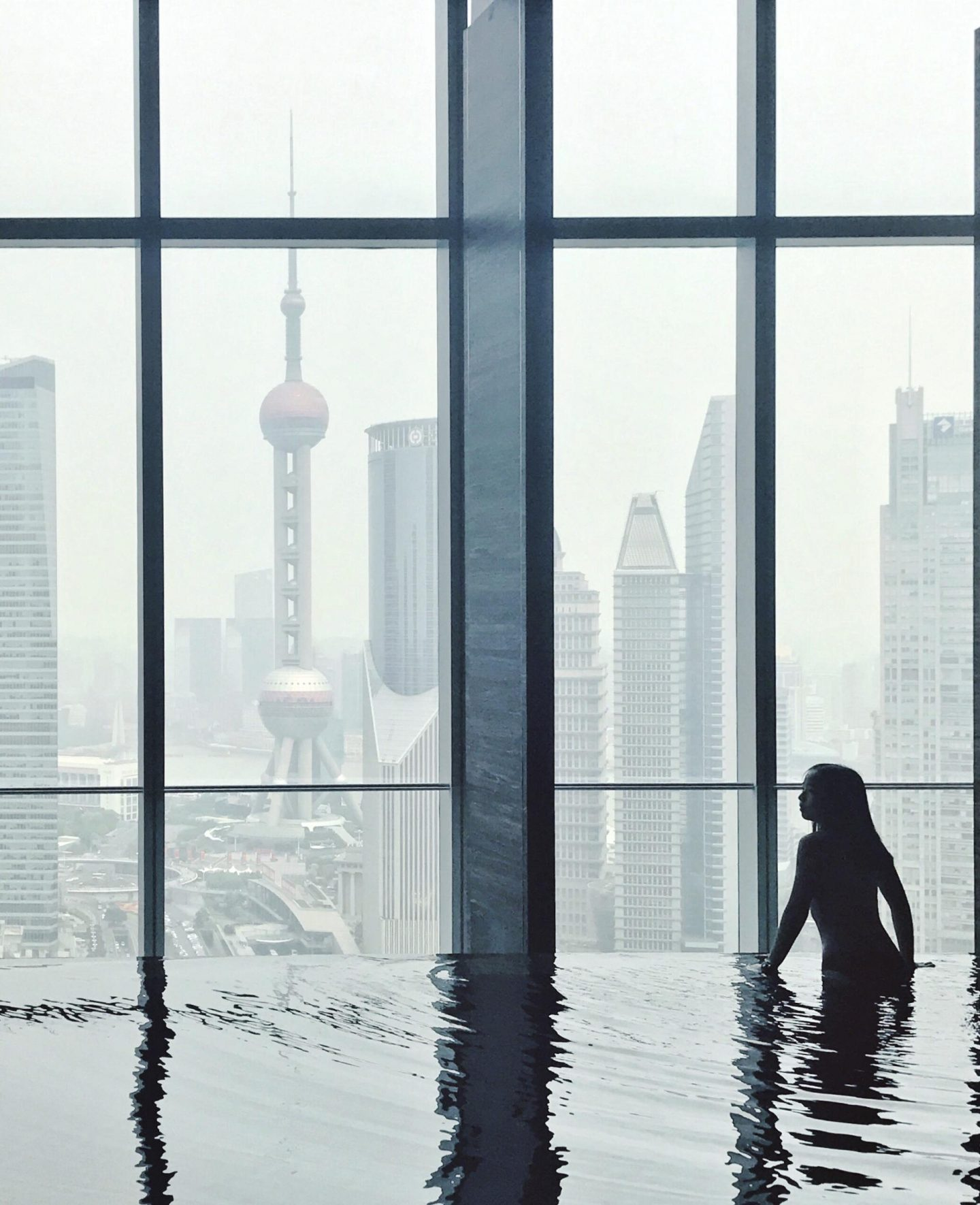 View from Four Seasons Hotel Shanghai