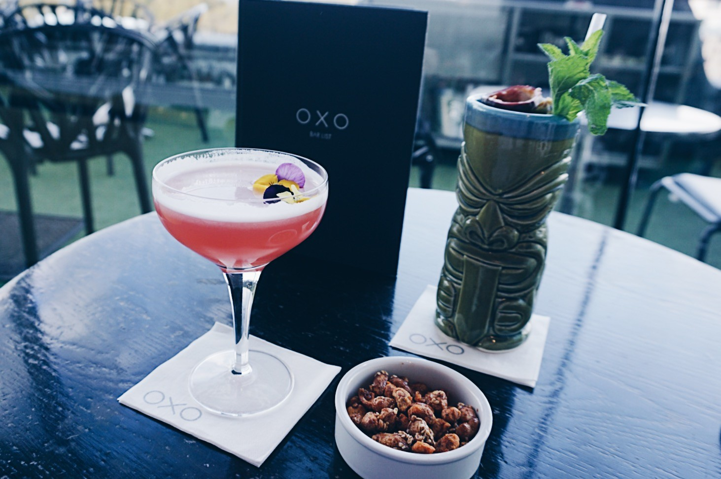 Cocktails at the Oxo Tower