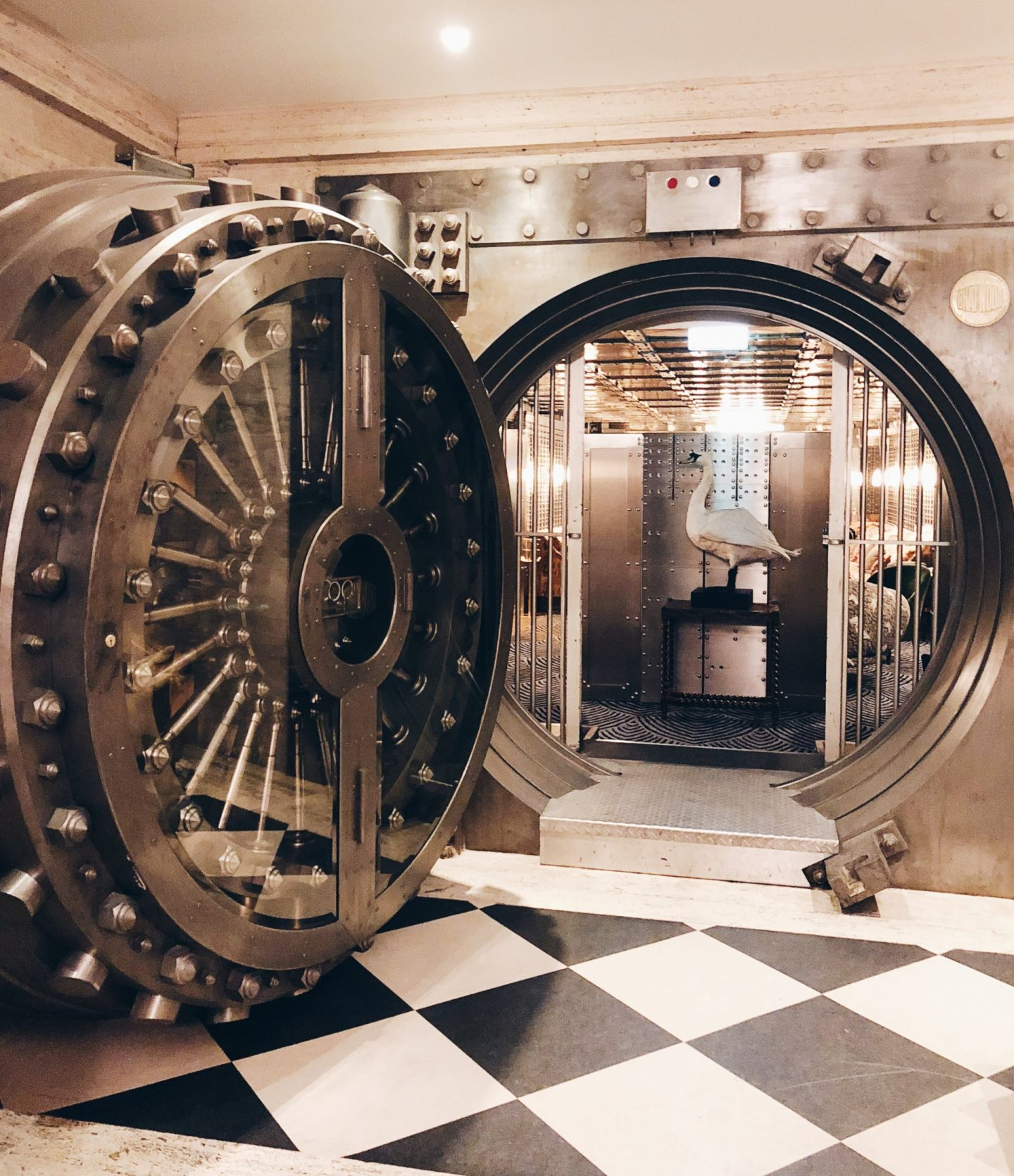 Vault Door at The Ned